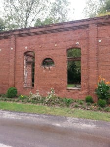 Remnants of Whittier Mill