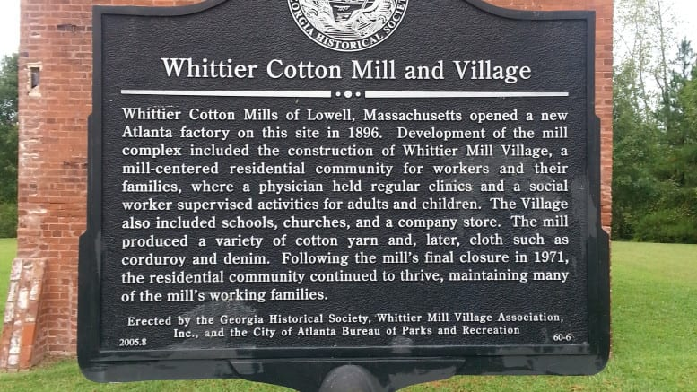 Whittier Mill Park