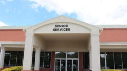 Cobb County Senior Services building with article about Senior Citizen Council of Cobb County