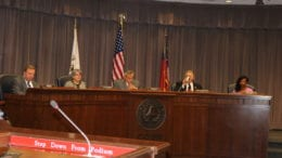 Cobb County Board of Commissioners in session