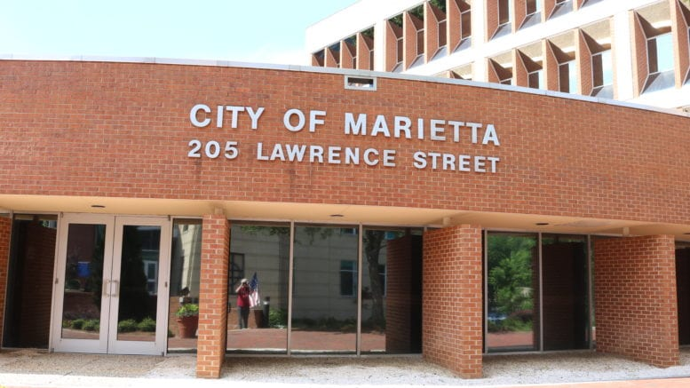 Marietta City Hall in article about proposed skatepark