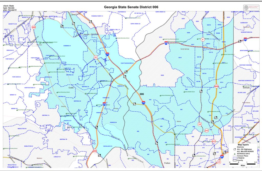 Map Of Georgia District 6.Senate District 6 Candidates Talk Private Vs Public Schools