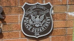 Cobb Police Department Headquarters. Used on article about death in the Chattahoochee River