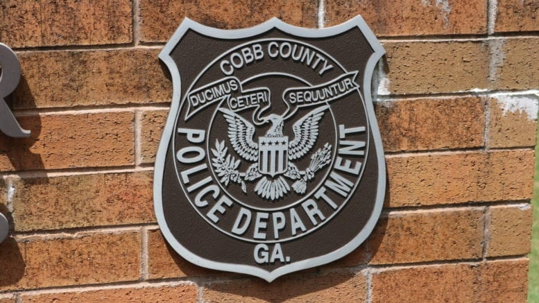 Cobb Police Department Headquarters. Used on article about south cobb drive collision