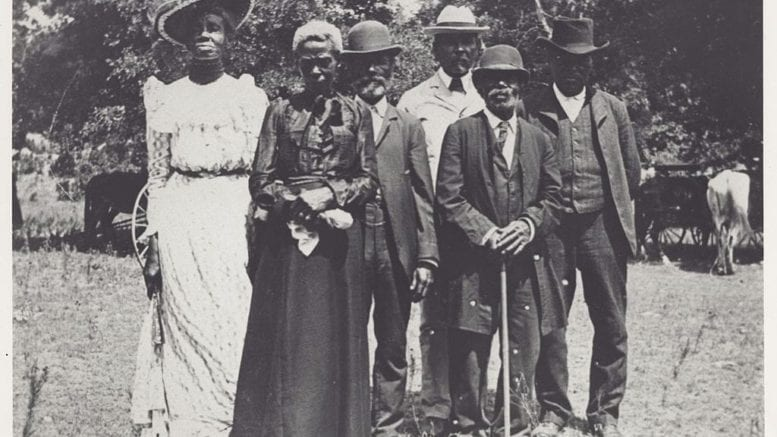 Juneteenth Emancipation Day celebration in Texas in 1900