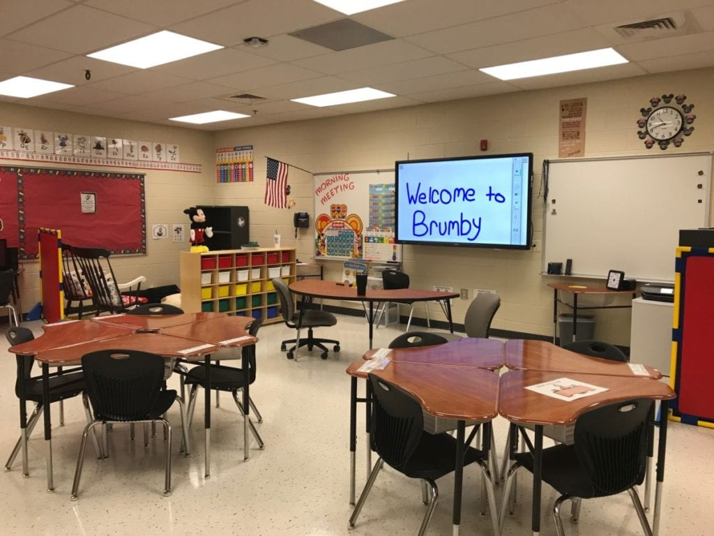 Autism classroom at Brumby. (photo by Rebecca Gaunt)