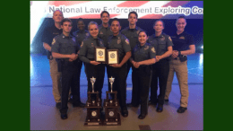 Cobb County Police Explorers (photo courtesy of the Cobb County Police Department)