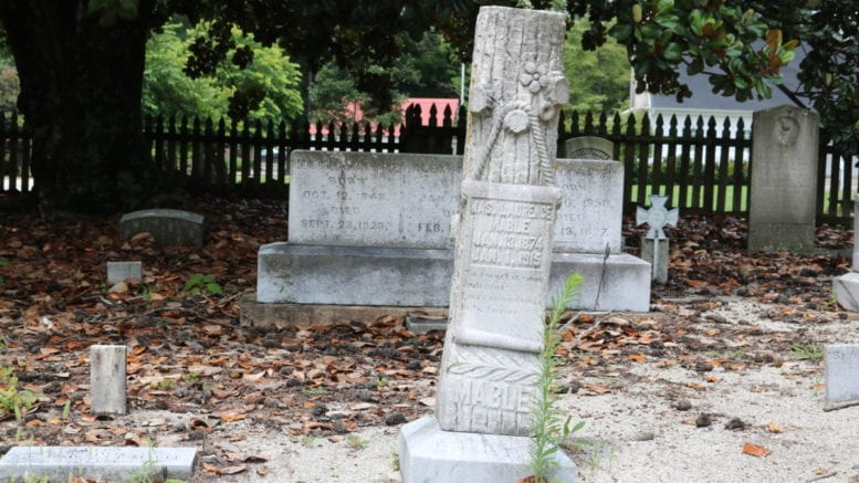 Mable Family Cemetery (photo by Larry Felton Johnson)