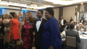 Crowd rises to applaud Stacey Abrams at Gala of Cobb Democrats