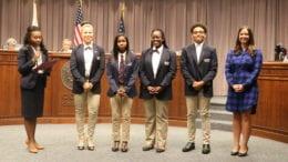 Cobb student participants in the Harvard Debate Council Diversity Project