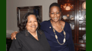 Debra Tyler-Horton, AARP Georgia State Director (L), Laurie Roland, Award Recipient (R)