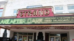 Strand Theatre on Marietta Square in article about Six Strings Cure