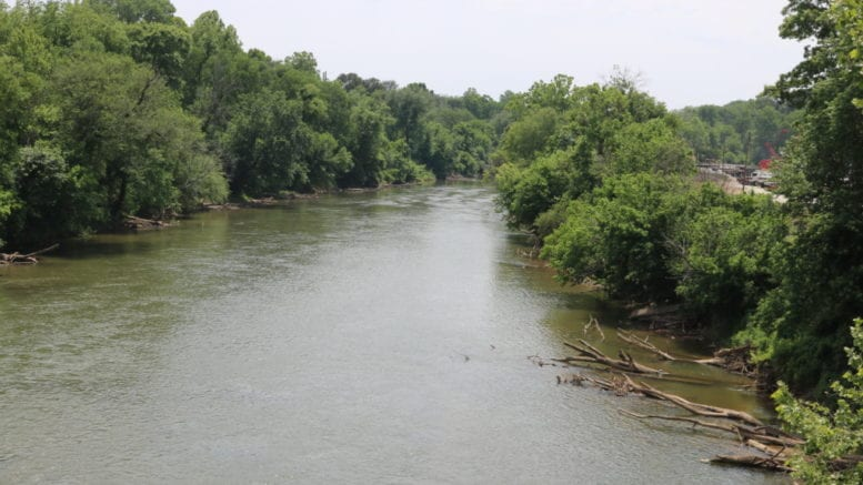 Chattahoochee at Highway 78 bridge in article about Water Planning District