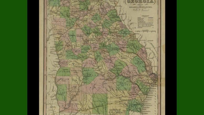 1833 Georgia Legislature Forms Cobb County Cobb County Courier