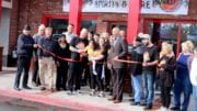 Ribbon Cutting Ceremony at Isabella's Pizza and Wings (photo by Larry Felton Johnson)