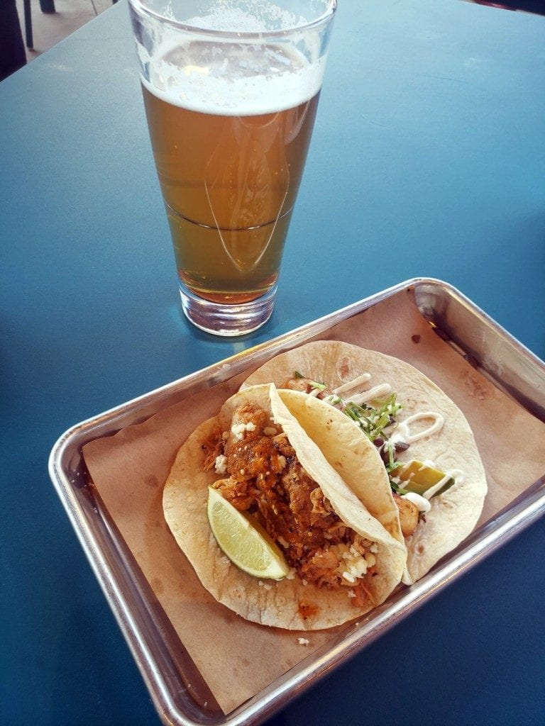 Tacos and beer at Marietta Square Market (photo by Alex Patton)