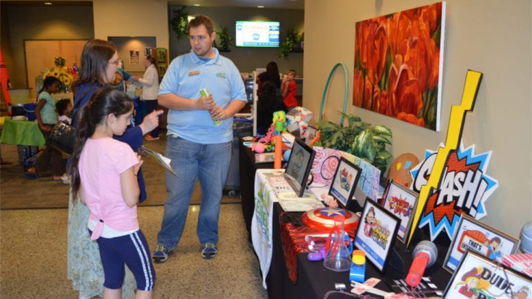 Kennesaw summer camp expo displays