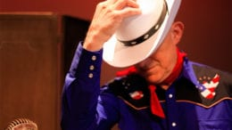 The Lone Ranger with Vic Reynolds will be playing at the Strand