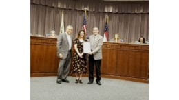 Alcohol Awareness Month proclamation given to the Cobb County Community Services Board