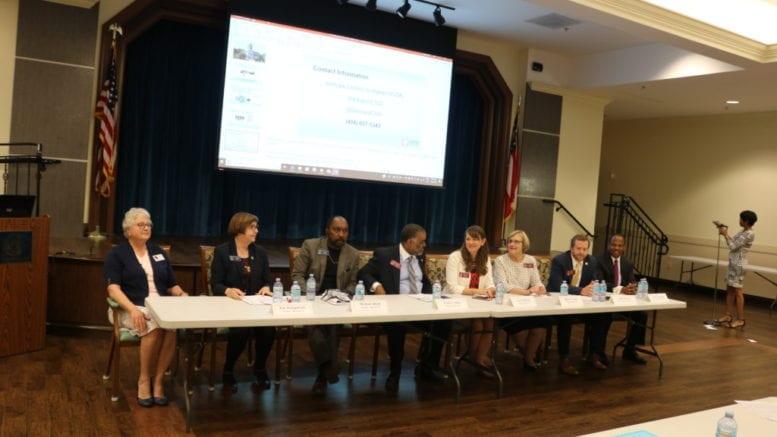 panel of legislators at CO-AGE forum
