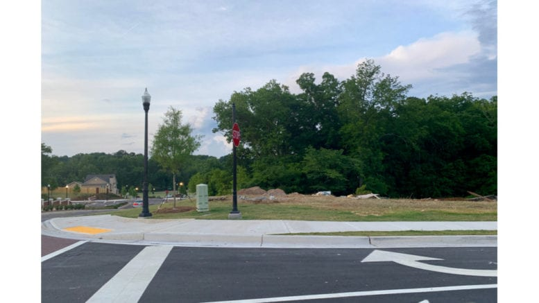 Site of proposed Acworth mixed-use area