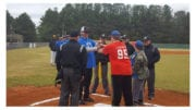 Ole Time Classic pits special needs athletes against former major leaguers (photo courtesy of Taylor Duncan)