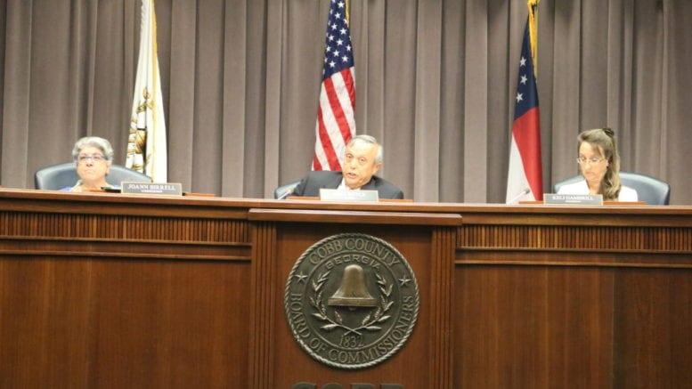 Cobb BOC Chairman Mike Boyce criticized EPD and EPA at BOC meeting