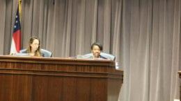 Lisa Cupid speaks on Dodgen Road property rezoning