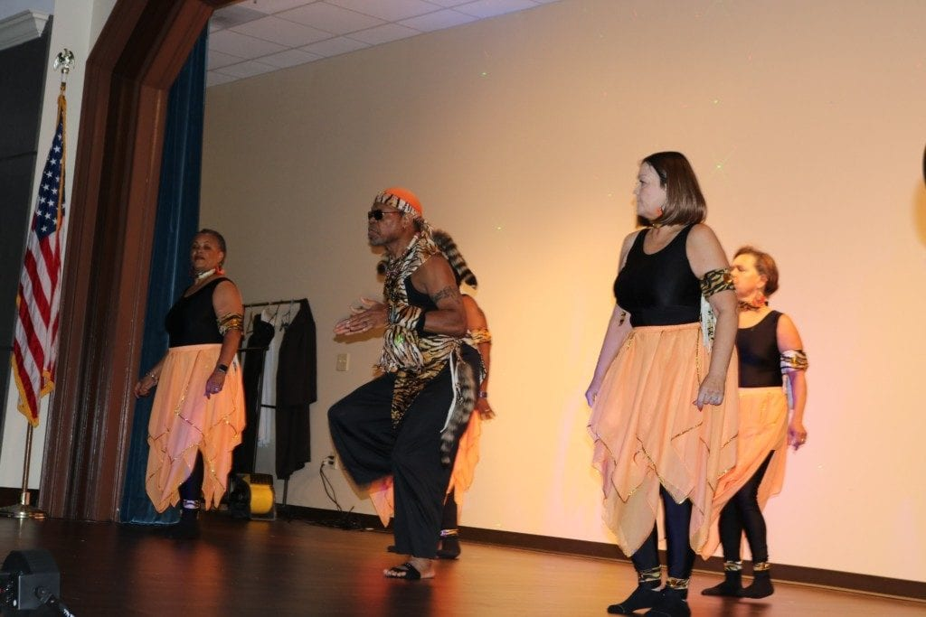 Rock Step Nation performs at National Senior Citizens Day