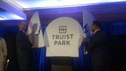 Truist Park logo unveiled.