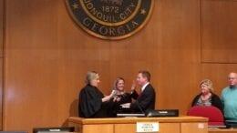 Swearing-in ceremony in Smyrna