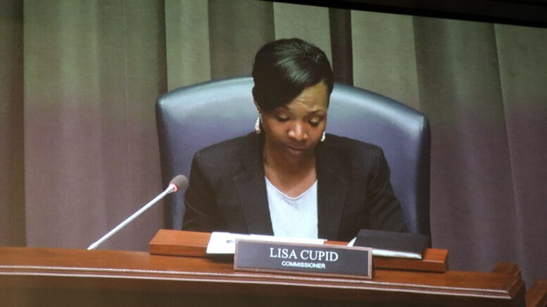 District 4 Commissioner Lisa Cupid