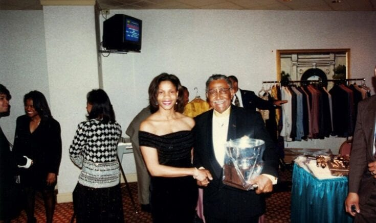 Shelia Edwards and Dr. Joseph Lowery
