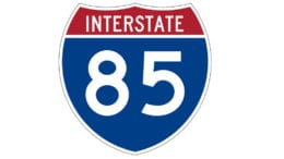 I-85 symbol in article about C.W. Matthews contract