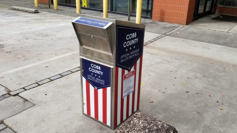 absentee ballot drop box